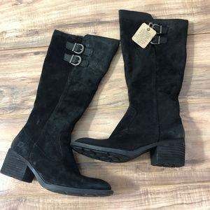 Born Basil Black Boots 7.5